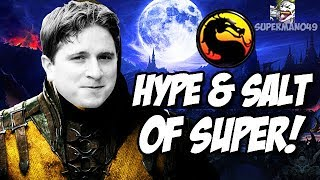 THE GREATEST MKX PLAYER OF ALL TIME... - Mortal Kombat X Hype And Salt Of Super #14