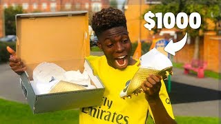 Surprising My Best Friend With $1000 Dream Football Boots