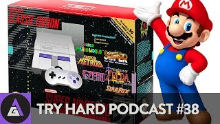 THE SNES MINI MAKES CRAIG (try) HARD | Try Hard Podcast #38