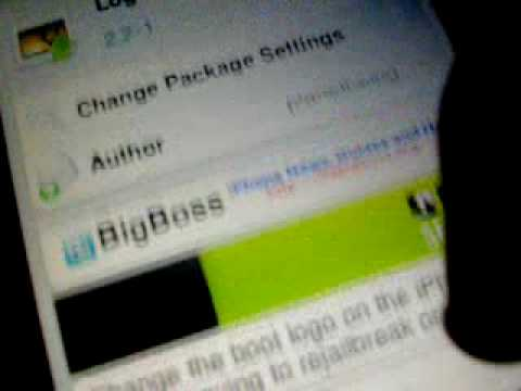 Change Your Boot Logo (Logo Me For Ipod Touch 2g!)