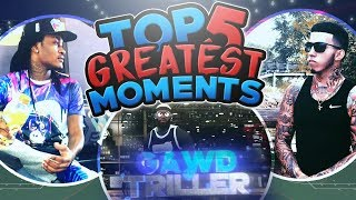THE TOP 5 GREATEST MOMENTS OF GAWD TRILLER 😳 (MUST WATCH!!)😱 - NBA 2K17