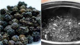 فوائد تناول الماء الساخن بالفلفل الأسود لمدة 30 يوم !