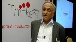 Prof. S Raghunath discusses Lenovo Thinkers League workshop