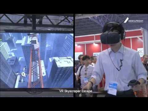 VR Skyscraper Escape (by MEDIAFRONT)