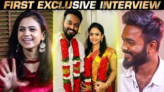 Story behind Register Marriage |VJ Manimegalai Reveals about her relationship with Hussian