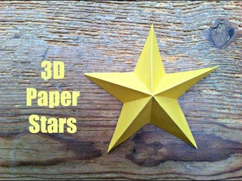 Xxx Mp4 CHRISTMAS CRAFTS Simple 3D Paper Stars 3gp Sex