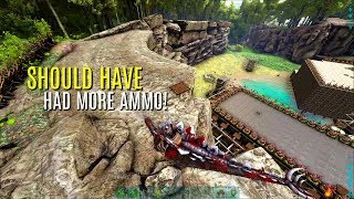 GOT IN WITH ONE STEGO! Oasis Base - Official PVP (E43) - ARK Survival Gameplay