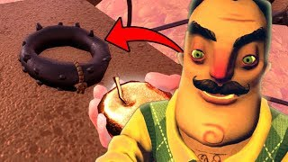 The secret on top of the windmill!   Hello Neighbor Secrets (Full Game)