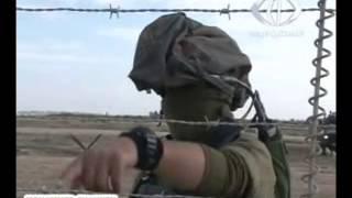 حوار مضحك بين جندي اسرائيلي وجندي فلسطيني