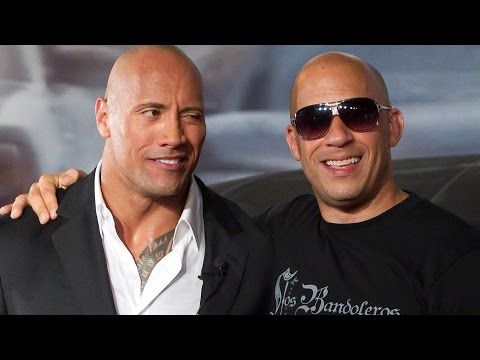 Xxx Mp4 What Really Went Down Between The Rock And Vin Diesel 3gp Sex