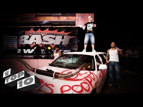Vehicular Demolitions WWE Top 10