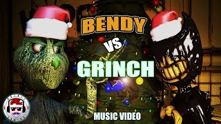 Bendy and the Ink Machine VS The Grinch CHRISTMAS RAP BATTLE   Bendy vs Grinch