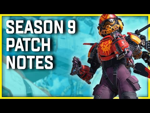 Apex Legends Season 9 Update Patch Notes Many Balance Changes Coming