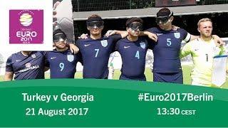 Turkey vs Georgia | IBSA Blind Football European Championships