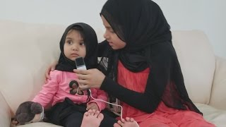 Cute Fatima learns a new trick, so adorable