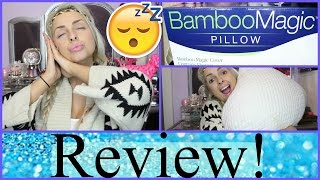 Bamboo MAGIC Pillow Review!! zZzZz