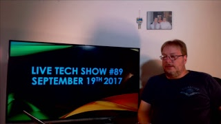 Live Tech show #89 Your Questions My Answers September 19th  2017