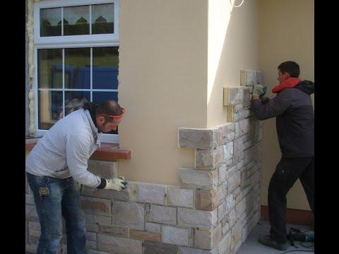 Stone Cladding ...Cozy Stone = Natural Stone Panel + Insulation