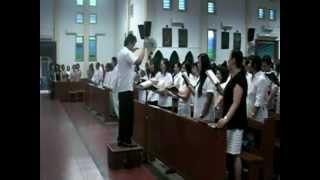 """""""Kemuliaan"""" PS.352 Misa HR Paskah Misa I di Katedral Pangkalpinang."""
