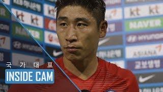 이근호, 탈진 직전 경기 후 인터뷰 | WC 최종예선 8차전 ep.9