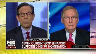 Chris Wallace Confronts McConnell on SCOTUS: 'Fair Amount of Hypocrisy' Here