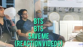 BTS - SAVE ME - BEHIND THE SCENES - (REACTION VIDEO)