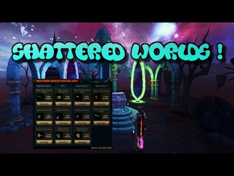 Shattered Worlds - Overview: New Abilities/Sigils/Pets- [Runescape 2017]