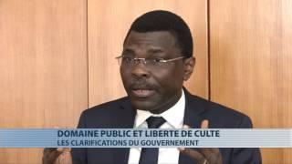 Domaine public et liberté de culte : Les clarifications du gouvernement