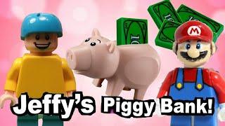 SML Lego: Jeffy's Piggy Bank!