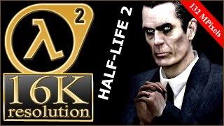 Half-Life 2 16K gameplay (15360x8640) - 2x Radeon Pro Duo crossfire HL2 16K (4x Fury X crossfire)