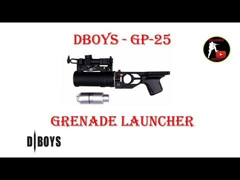 [ОБЗОР] DBOYS - ГП-25 GP-25 Grenade Launcher airsoft (страйкбол)