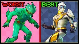 RANKING EVERY *NEW LEAKED* SKIN + ITEM FROM WORST TO BEST! (Fortnite Battle Royale!)