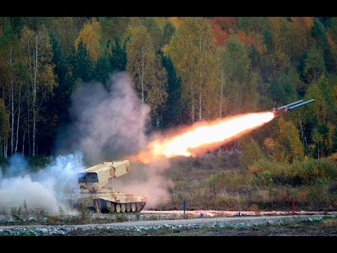 Russian military hardware in action -