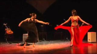 meital sassi duet belly dance & flamenco