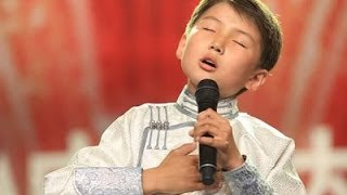 Wu Damu, from Mongolia - Mother in my Dreams [China's Got Talent] [2011]