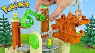 Pokemon Toys Old Castle of Huge Tree 4 Packs Unboxing Opening