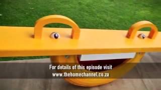 Create a fun tyre seesaw
