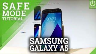 Safe Mode in SAMSUNG Galaxy A5 (2017) - Enter / Quit Safe Mode