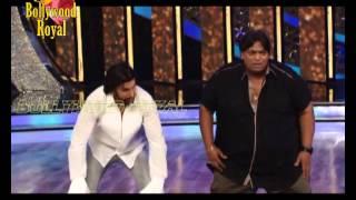 Ranveer Singh and choreographer  Ganesh Acharya at 'DID' sets for 'Ram Leela' promotions 2