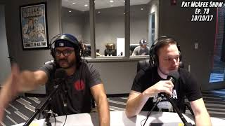 The Pat McAfee Show Simulcast Ep. 79- The Guys Talk Tailgate Show, Cardi B, and Tim Cook 10-10-17