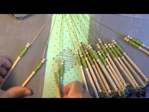 Video 84 Beginner bobbin lace tutorial