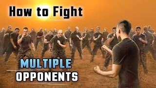 5 Self Defense Techniques for Multiple Attackers - Fighting Multiple Opponents