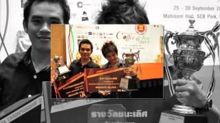 Champion Thailand Barista & Latte art 2012 by HomKrun Coffee