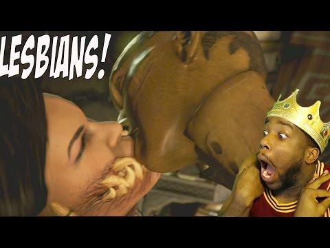 Xxx Mp4 LESBIANS KISSING Mortal Kombat X Story Mode Ep 7 Funny Moments D 39 Vorah 3gp Sex