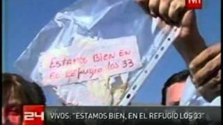 Estan los 33 mineros vivos confirmacion oficial por piñera