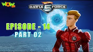 Motu Patlu presents Hot Wheels Battle Force 5 - Storm Shocker - Episode 14-P2 - in Hindi