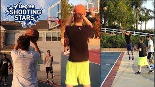 NBA SHOOTING STARS CHALLENGE!!! (RECORD)