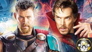 Doctor Strange Fixes Mjolnir in Thor: Ragnarok - Theory