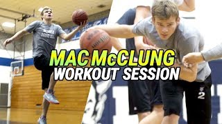 """Mac McClung Gets In FULL WORKOUT On Gameday! """"I Feel Like I Want It More Than Anybody"""""""