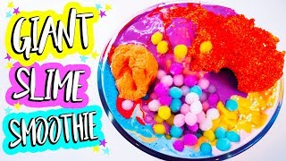 Mixing Together All My Slimes! Most Satisfying GIANT SLIME SMOOTHIE